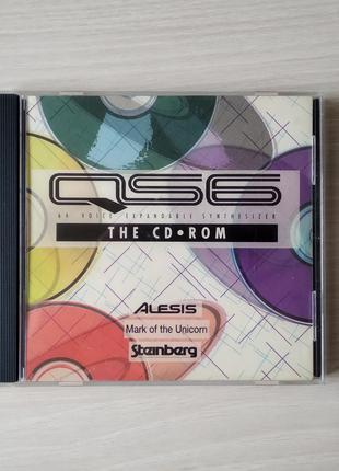 CD диск c ПО Alesis QS6