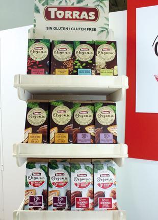 Шоколад Торрас Torras Organic, органический, без глютена, Испания