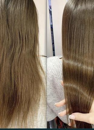 Ботокс, кератин для волос