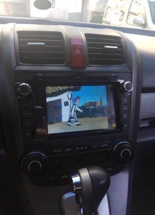 Магнитола, автомагнитола, ГУ на Хонда СРВ, Honda CRV с установкой