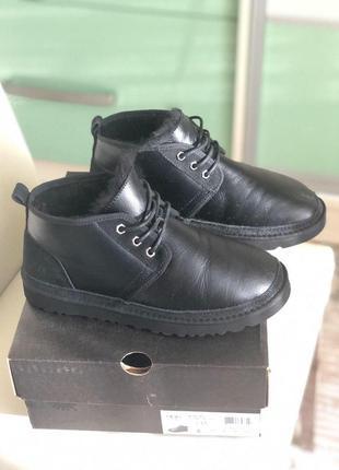 Ugg neumel стильные мужские ботинки с мехом овчины /осень/зима...