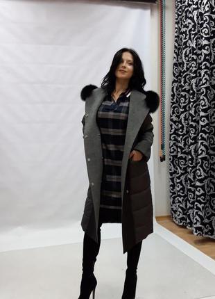 Итальянское пальто-куртка