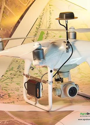Доработка дронов DJI до проф. геодезических систем RTK/PPK