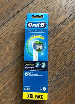 Насадка braun oral-b precision clean clean maximiser (ціна за ...