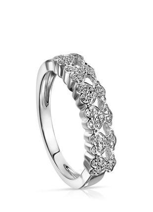 Кольцо tous puppies из белого золота с бриллиантами