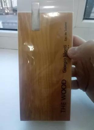 Туалетная вода мужская The Wood For Men Giorgio Monti