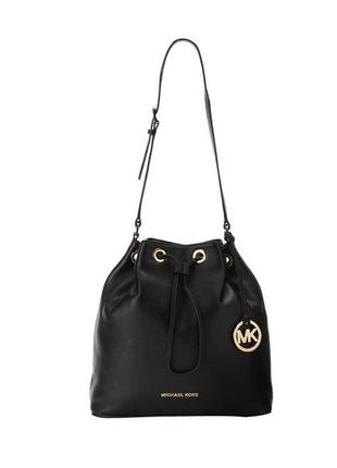 Кожаная сумка michael kors 'jules' black leather