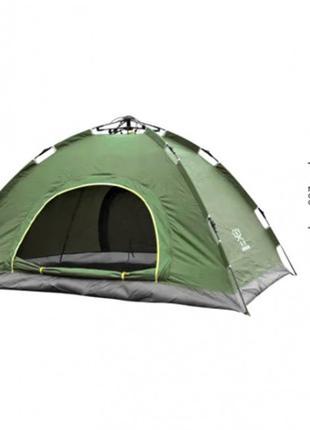Палатка автоматическая 2-х местная Зеленая с автоматическим ка...