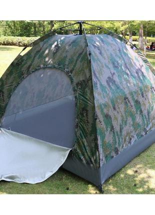 Палатка автоматическая 4-х местная Камуфляж с автоматическим к...