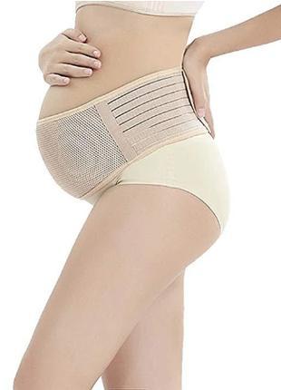 Бандаж пояс для беременных эластичный дородовой и послеродовой...