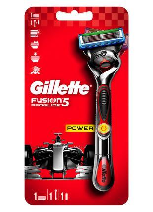 Станок для бритья мужской Gillette Fusion5 Proglide Power с 1 ...