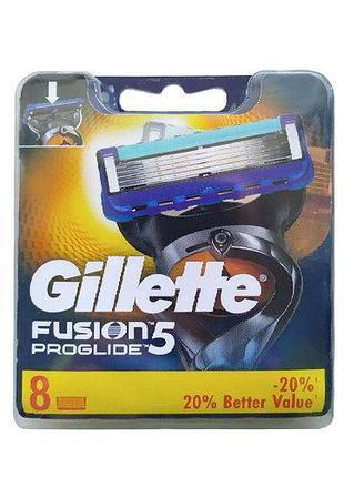 Сменные кассеты для бритья Gillette Fusion 5 ProGlide 8шт Лезв...