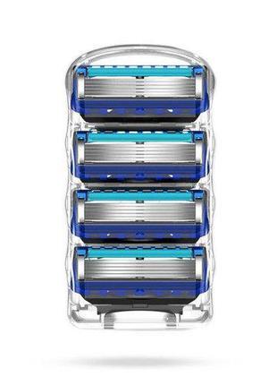 Сменные кассеты для бритья Gillette Fusion 5 ProGlide 4шт без ...