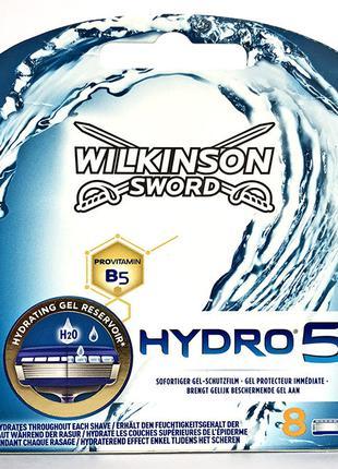 Сменные кассеты для бритья Wilkinson Sword Hydro 5 8 штук Карт...