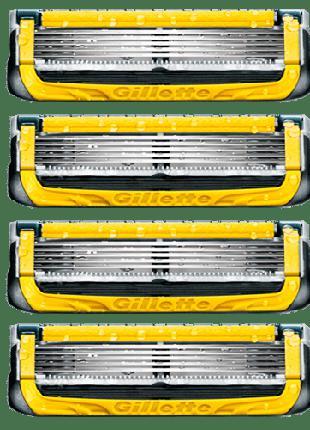 Сменные кассеты для бритья Gillette Fusion Proshield без упако...