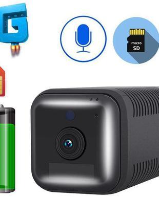 4G камера автономная мини с большим аккумулятором 6200 мАч ESC...
