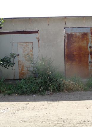 Каменный гараж склад СТО стоянка помещение здание мастерская
