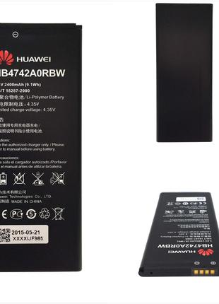 Аккумулятор huawei hb4742a0rbc (2300mah) honor 3c