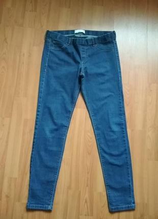Стрейч джинсы леггинсы лосины mango.