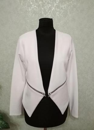 Пиджак жакет белоснежный select.