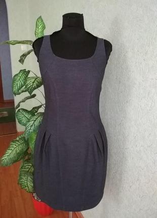 Стильное платье сарафан next.