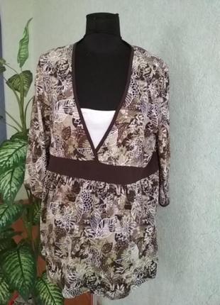 Блуза туника kappahl.