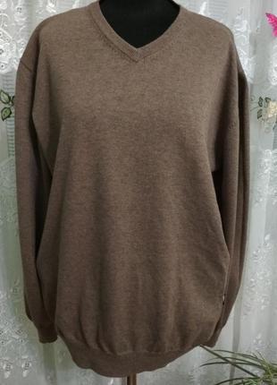 Мужской пуловер свитер ук.р.-60-62. commander.