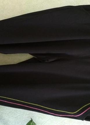 Бриджи черные батал sportswear.