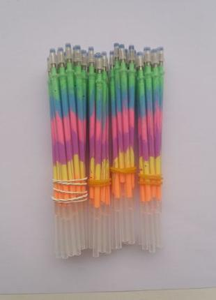 Цветные гелиевые стержни для ручки