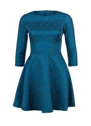 Темно синее платье forever21