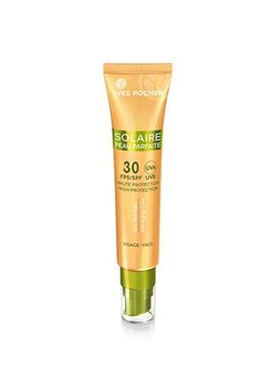 Солнцезащитный крем для лица Анти-Аж SPF30 solaire peau parfaite