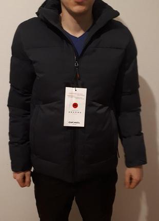 Зимняя мужская куртка приталенная