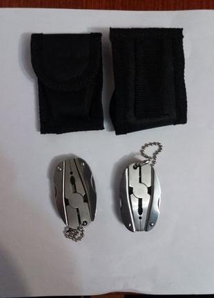Мультиинструмент мультитул плоскогубцы 5 в 1 с чехлом в комплекте