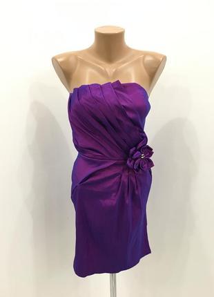 Платье без бретелей хамелеон