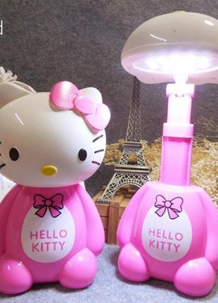 Детский светильник на аккумуляторе LED Hello Kitty