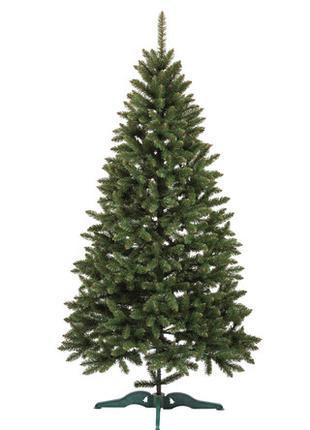 Искусственная елка 1 м зеленая Анастасия ПВХ