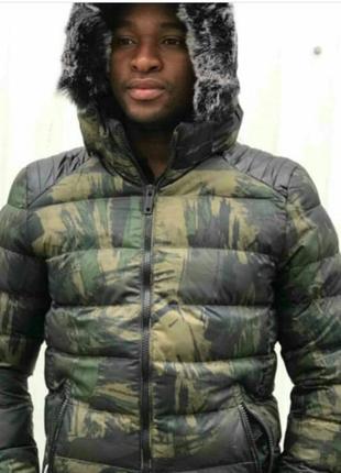 Куртка мужская хаки осень/зима