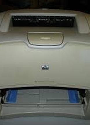 Принтер лазерный HP 1200 + запасной картридж