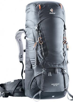 Рюкзак Deuter Aircontact 55 + 10 колір 4701 graphite-black (33...
