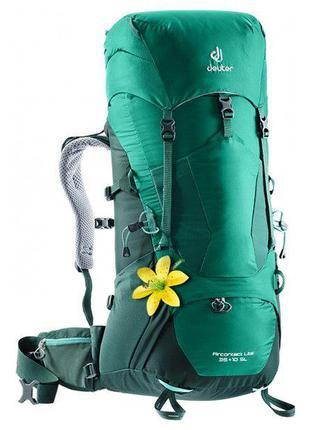 Рюкзак Deuter Aircontact Lite 35+10 SL колір 2231 alpinegreen-...