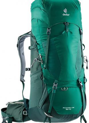 Рюкзак Deuter Aircontact Lite 65+10 колір 2231 alpinegreen-for...