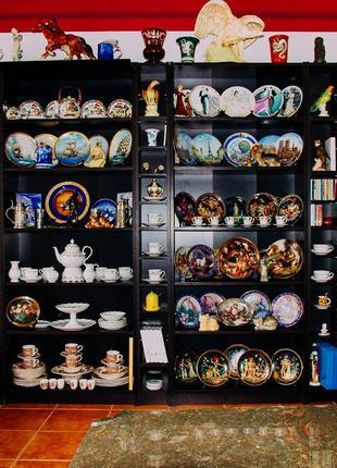Фарфоровые, декоративные, коллекционные тарелки.