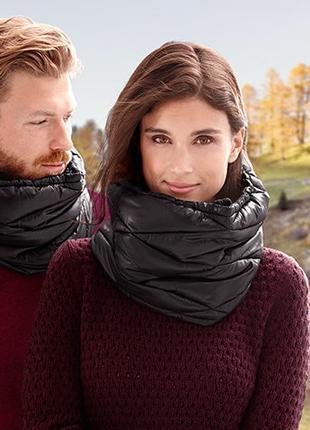 Теплый сверхлегкий шарф-снуд от tchibo. Размер универсальный