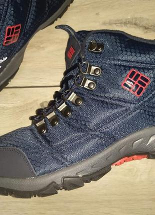 Теплые зима термо ботинки мужские columbia waterproof 100 grams