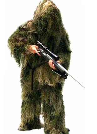 Маскировочный костюм Маскхалат PUBG хамелион кикимора леший seuno