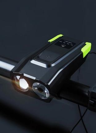 Фара на велосипед NEWBOLER 4000 mAh, вело фонарь, вело фара, USB