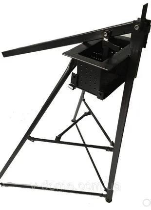 Ручной пресс для изготовление толпивного брикета 200х100 мм