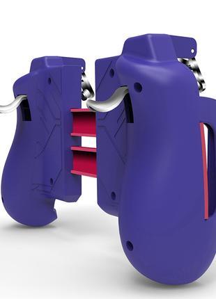 Геймпад фиолетовый Seuno MK-47 триггеры pubg джойстик телефона