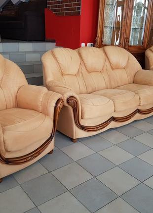 Комплект мебели мягкий гарнитур мягкая мебель б/у мебель