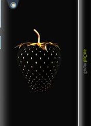 "Чехол на HTC Desire 626G Черная клубника ""3585c-144-2448"""